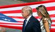 Melania Trump a Donald Trump