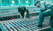 Závod na zpracování vzácných kovů v centrální Číně