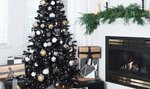 Lidé si oblíbili černé vánoční stromky