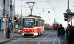 """Poslední jízda """"kočkopsa"""". Tramvaje Tatra T6A5 se loučí s pražskou dopravou"""