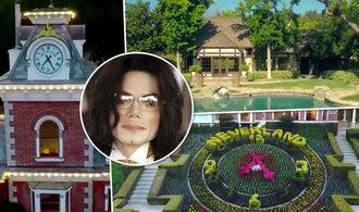 Bydlete v ráji Michaela Jacksona. Jeho ranč je znovu na prodej