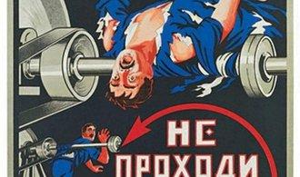 Pozor na ty vidle! Krvavé plakáty o bezpečnosti práce v SSSR