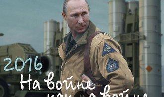 Superhrdina Vladimir Putin. Podívejte se, jaký kalendář vyrobila ruská propaganda