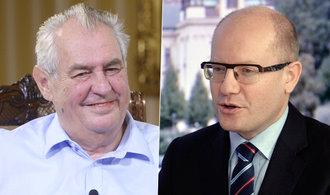 """Podpoří ČSSD Zemana v boji o Hrad? Referendum se odkládá. Do předsednictva se dostal i """"kakaový"""" Kraus"""