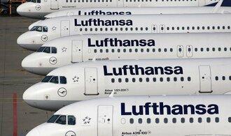 Lufthansa ve středu ruší stovky letů, i spoje do Prahy