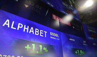 Majitel Googlu zvýšil zisk i tržby téměř o pětinu za kvartál