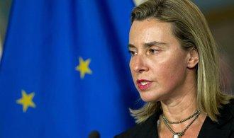 Mogheriniová požádala Radu bezpečnosti OSN o podporu zásahu ve Středomoří
