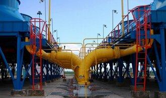 Ukrajina využívá naplno dodávky plynu ze Slovenska