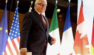 Steinmeier: EU musí sankcemi přimět Rusko k naplnění dohod z Minsku