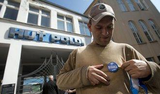 Zaměstnanci Poldi budou znovu stávkovat kvůli zpožďování výplat