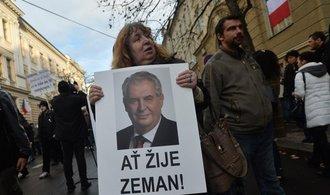 Studenti ztratili svobodu, napsal děkan UK k Zemanově blokádě Albertova