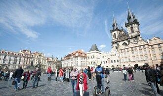 Turistů v Česku přibývá, za čtvrtletí se jich ubytovalo 3,3 milionu