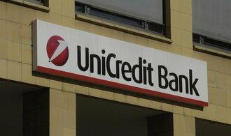 UniCredit Bank zvýšila zisk v Česku a na Slovensku skoro o čtvrtinu
