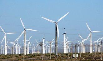 Čína tvrdě konkuruje evropským firmám už i ve větrné energii