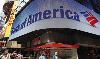 Zisk Bank of America se ve čtvrtém čtvrtletí propadl o 63 procent
