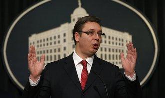 Srbský prezident Vučić požádal Putina o podporu v kosovských sporech