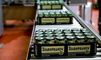Pivovar Staropramen zastavil kvůli záplavám výrobu