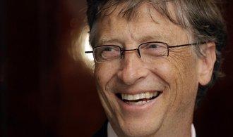 Gatesův majetek letos vzrostl o pětinu, jeho hodnota přesáhla dva biliony