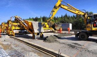 Doprava může stavět, rozhodla vláda. Odstartují projekty za 233 miliard
