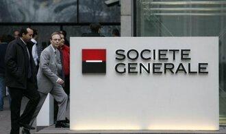 SocGen odmítá dohady o finančních problémech, označila je za nesmysly