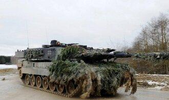 Němci posílí tankové vojsko. Začnou také vyvíjet novou řadu leopardů