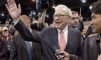 Buffett: Čím jsou akcie níž, tím víc jich koupím
