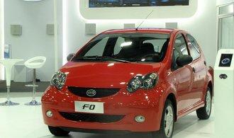 Čínské technologické firmy objevují automobilový průmysl