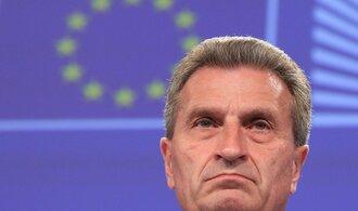 Eurokomisař pro rozpočet budí rozpaky. Před německými podnikateli se rasisticky vyjadřoval o Číňanech