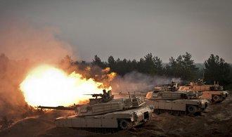 USA posílají tanky do Pobaltí. Mají odradit Rusko