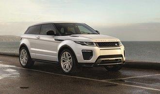 Range Rover Evoque má nové úspornější motory a LED světla