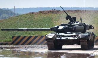 OBSE znepokojují kolony tanků na východě Ukrajiny