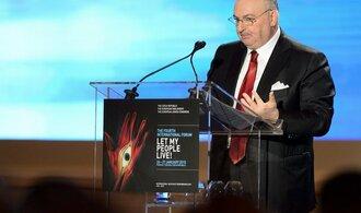 Židé jsou blízko novému exodu z Evropy, říká šéf židovského kongresu