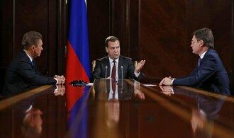 Rusko doufá, že spor o plyn s Ukrajinou urovná tento týden