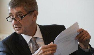 Babiš výsledky auditu ve zdravotnictví nezveřejní, porušil by zákon