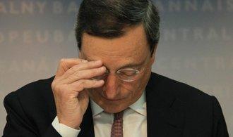 Draghi nedorazí na setkání centrálních bankéřů, má moc práce