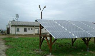 Obnovitelné zdroje v Česku letos upadly do klinické smrti