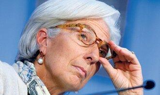Lagardeová nabádá ECB ke kvantitativnímu uvolňování