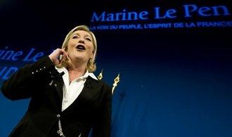 Le Penová: Zvolení Trumpa zvyšuje šanci, abych byla prezidentkou Francie