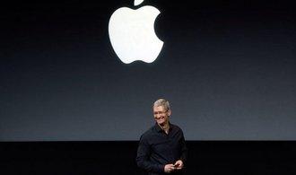 Apple pohltí cizí firmu každé dva až tři týdny, pochlubil se Cook