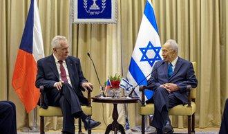 Zeman v Izraeli: S teroristy se nevyjednává, ale bojuje
