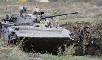 Porošenko chce, aby na Donbasu vojensky zasáhla OSN
