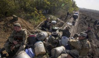 Ukrajinci postižení válkou v Donbasu se masově do pohybu zřejmě nedají, ukázal výzkum