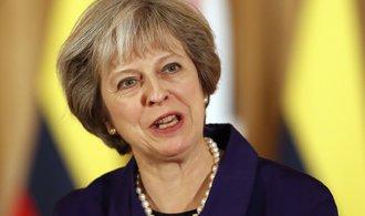 Mayová: Chceme získat kontrolu nad pohybem osob z EU do Británie