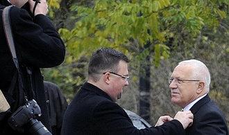 Václav Klaus označil Forejta za oběť štvanice. Odsoudil jeho lidskou a profesní diskreditaci