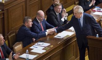 """Zeman napadl """"lex Babiš"""" u Ústavního soudu, považuje ho za protiústavní a diskriminační"""