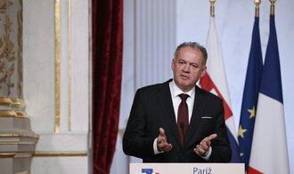 Význam vzniku Československa přetrvává do dneška, řekl k výročí slovenský prezident Kiska