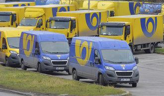 Česká pošta si chce pořídit tisíce vozů na leasing. Pomýšlí i na elektromobily