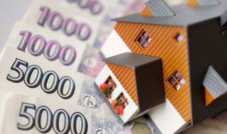 Průměrná sazba hypoték mírně stoupla