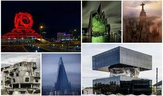 25 nejděsivějších staveb světa. Superpadouch by se zabydlel právě zde