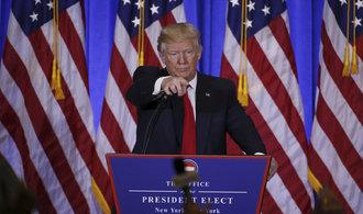 Trump: Putin se neměl pouštět do hackerských útoků. Amerika bude mít za mé éry největší respekt